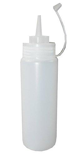 quetschflasche 1 liter pe mayo ketchup dosier saucen flasche 2 st ck. Black Bedroom Furniture Sets. Home Design Ideas