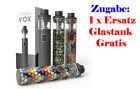 LYNDEN VOX Starterset e-Zigarette - 50 Watt - incl. Ersatz-Glastank (Zugabe)