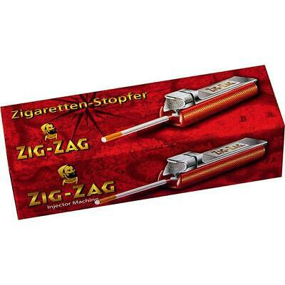 ZIG ZAG Stopfer Stopfgerät Stopfmaschine Zigarettenstopfer