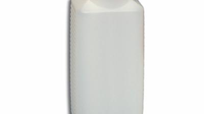 1 l Weithalsflasche, PE-Flasche mit Deckel.