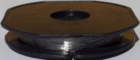 10 Meter V2A Edelstahldraht Ø 0,30mm – AWG 29 (Grundpreis: EUR 0,48/m) Heizdraht – Widerstandsdraht – stainless steel wire 0.012″