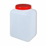 1,5 l Weithalsflasche, PE-Flasche mit Deckel.