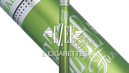 2 Stück Ezee Fun E Zigarette | Champagne Geschmack | Nikotinfrei | Elektronische Zigarette einweg.