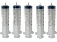 5 Einmalspritzen 50 ml Einwegspritzen Spritzen Plastikspritzen von Romed.
