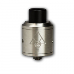 528 Goon RDA Verdampfer 24mm Silber (528 Custom Vapes Replica).