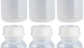 6 x 100ml Weithalsflasche / Laborflasche Naturfarben aus LDPE inkl. Schraubverschluss *** Weithalsflaschen, Laborflaschen, Plastikflasche, Kunststoffflasche, Plastikflaschen, Kunststoffflaschen ***.