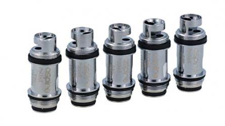 Aspire® – Aspire PockeX 0,6 Ohm Verdampferköpfe- für das PockeX E-Zigaretten Set geeignet – 5 Stück pro Packung