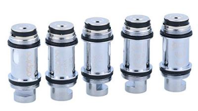 Aspire – Aspire PockeX 1,2 Ohm Verdampferköpfe- für das PockeX E-Zigaretten Set geeignet – 5 Stück pro Packung