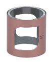 Aspire – Aspire PockeX Glastank mit 2 ml Tankvolumen – geeignet für das Aspire PockeX E-Zigaretten Set – Farbe: rosegold