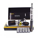 Aspire Premium Kit / Edelstahl Karbon / Komplettes e-Zigaretten Starter-Set