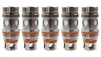 Aspire – Aspire Triton Clapton Coils (0,5 Ohm), Aspire Verdampferköpfe für e-Zigarette, 5 Stück