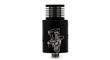 Authentic ADVKEN Mad Hatter V2 RDA Rebuildable Dripping Atomizer , 304 stainless steel / 22mm diameter.