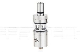Bullfighter V2 RDTA Rebuildable Dripping Tank Atomizer , 1.7ml / stainless steel + glass / 22mm diameter.