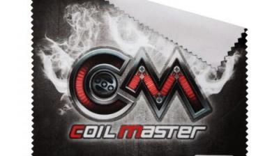 Coil Master Reinigungstuch – Vape Polishing Cloth.