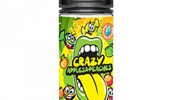 Crazy Apple and Peaches 15ml Bottlefill Aroma by Big Mouth e Liquid Nikotinfrei