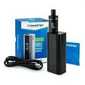 E-Zigarette InnoCigs Cuboid + CL- Tank + 2 x 2500 mAh Akku (Schwarz).