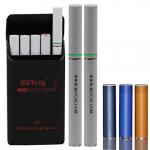 E Zigarette starterset A9 BSTcig/ 1x A9 Tragbaren Ladegerät Fall 900mAh / 2x elektronische Zigarette Batterie 180mAh / 5x e Cig Cartomizer Multi-Geschmack / Ecigarette Patrone / 1x Ecig USB-Ladegerät / nikotinfrei ¡.