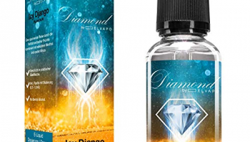 Elvapo Diamond Aroma für E-Liquids, Icy Django (Eisige Früchte) 0.0 mg, 30 ml