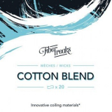 Fiber Freaks Original Cotton Blend Wicks für Selbstwickelverdampfer