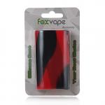 FOXVAPE Silikonhülle Silikon Case für iStick Power Box Mod Kit (Schwarz&Rot).