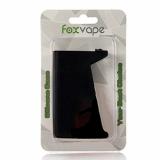Foxvape Silikonhülle Silikon Case für Smok H-Priv 220W TC Box Mod Akkuträger(Schwarz).