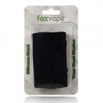 Foxvape Silikonhülle Silikon Case für Wismec Reuleaux RX2/3 Box Mod 150W / 200W Akkuträger – 2 im Pack (Schwarz).