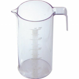 Fripac-Medis Messzylinder mit Messskala von 5-250 ml.