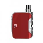 FUSION E-Zigarette Box Mod 50W 'All-in-one' Rot, LED 7 einstellbaren Farben (ohne Nikotin, ohne Tabak).