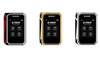 G-PRIV 220W Touch Screen MOD – Smok, Farbe:rot-schwarz