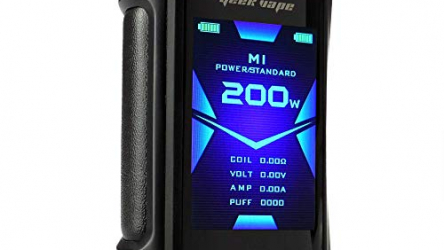 GeekVape Aegis X Box Mod 200 W, Riccardo e-Zigarette – Akkuträger, stealth black