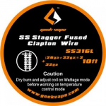 GeekVape Stagger Fused Clapton SS316L Wickeldraht.