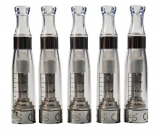 Hannets® CE5 color 5 x Clearomizer Verdampfer 1.6ml ohne Dochte transparent.
