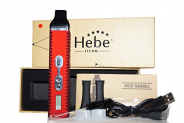 HEBE TITAN 2 / TITAN II / Verdampfer Kit für Kräuter / Dry Herb Vaporiser in rot.