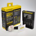 Hohe Qualität NITECORE Digicharger D4 LCD Display Universal Smart Charger.