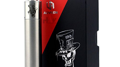 H&W E-Zigarette Mod Mad Hatter Mini Kit Mit DIY Drip Tip Verdampfer Metall Farbe ohne Nikotin.