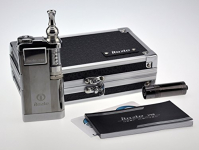Innokin iTaste VTR Akkuträger für Elektrozigaretten, variable Spannung und Stromleistung, integrierter Verdampfer, limitierte Auflage mit Aufbewahrungsbox, silberfarben