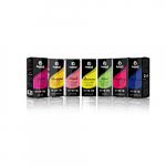 Joyetech E-liquids – Super Frische Mischung – Kiwi, Zitrone, Apfel, Menthol, Minze [5-Pack] – 10ML Bottles – 0MG Nicotine