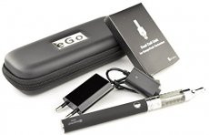 Kanger – Starterset (M) – e-Zigarette – EVOD Akku 1.000 mAh & T3D Dual Coil Clearomizer (schwarz).