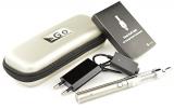 Kangertech eGo – Starterset (B) – e Zigarette – EVOD Akku 650 mAh & T3D Dual Coil Clearomizer (silber).