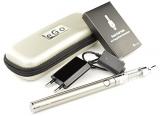 Kangertech eGo – Starterset (M) – e Zigarette – EVOD VV Akku 1.000 mAh & T3D Dual Coil Clearomizer (silber).