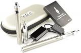 Kangertech eGo – Starterset (XL) – e Zigarette – 2x EVOD VV Akku 1.000 mAh & T3D Dual Coil Clearomizer (silber).