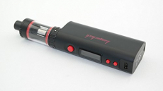 KangerTech Original Topbox Mini Kit mit 75 W TC RBA SubOhm, klassisch und Temperature Control und zum Selbstwickeln (Black Edition (Schwarz)).