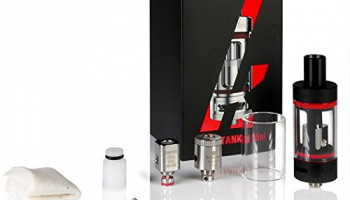 KangerTech Subtank Mini Sub-Ohm-Clearomizer 4,5 ml, schwarz.
