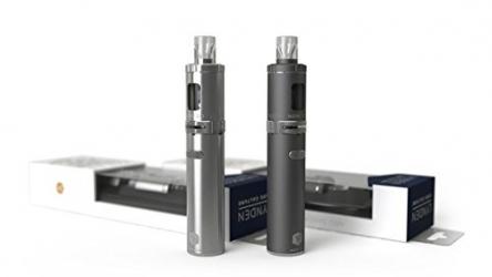 LYNDEN® NOW 2.0 E Zigarette Starterset   Topfill   15W – 25W   2ml Tank   e Shisha Starterset   Elektronische Zigarette (Schwarz)