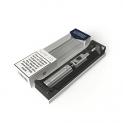 LYNDEN® NOW 2.0 E Zigarette Starterset | Topfill | 15W – 25W | 2ml Tank | e Shisha Starterset | Elektronische Zigarette (Silber)