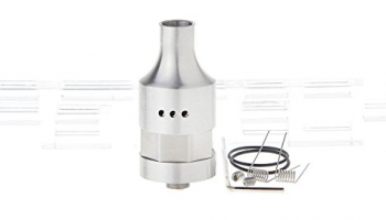 Mrs. Soaky Styled RDA Rebuildable Dripping Atomizer , 316 stainless steel / 22mm diameter