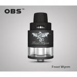 OBS Frost Wyrm RDTA Verdampfer 3,3ml Farbe Schwarz.