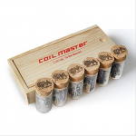 Original Coil Master 4 Sorten vorgefertigte spezial Coils in formschöner Verpackung.
