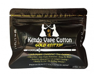 Original Kendo Vape Cotton, Gold Edition, extrem saugfähig u. haltbar, Schlauch/Schnur-Form