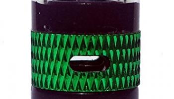 OSO Stil Pyrexglas 510 Drip Tip mit Air Flow Control (Grün)